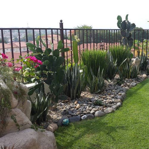 Diseos de jardines foto diseo jardn zen despus da for Jardines verticales panama