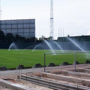 Construcción de Campos Deportivos en Panamá